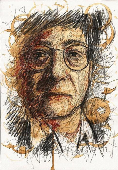 Mahmoud Darwish by maaroufi